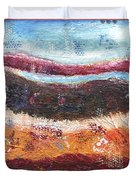 Organic Abstract Duvet Cover