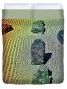 Organized Tranquility  Duvet Cover