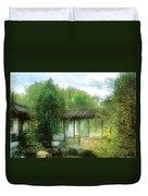 Orient - Bridge - Chinese Bridge  Duvet Cover