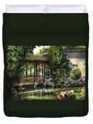 Orient - Bridge - The Bridge Duvet Cover