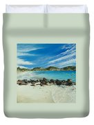 Orient Beach Duvet Cover