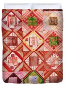 Oriental Patchwork Tapestry Duvet Cover