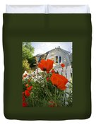 Oriental Poppies Duvet Cover