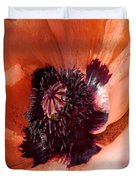 Oriental Poppy - Duvet Covers Duvet Cover