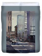 Oriental Theater - Chicago Duvet Cover by Ryan Radke