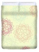 Origami Blooms Duvet Cover