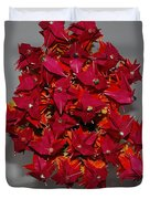 Origami Flowers Duvet Cover