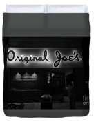 Original Joe's  San Jose Bw Duvet Cover