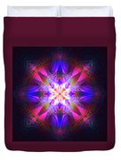 Ornament Of Light Duvet Cover