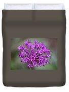 Ornamental Allium Duvet Cover