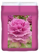 Ornamental Cabbage Duvet Cover
