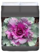 Ornamental Red Cabbage Duvet Cover