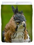 Ornate Hawk Eagle Duvet Cover