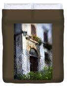 Ornate Italian Doorway Duvet Cover