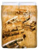 Ornate Rocking Horse Memoirs  Duvet Cover