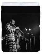 Ornette Coleman On Trumpet Duvet Cover