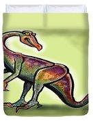 Ornithomimus Duvet Cover
