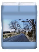 Osage County Road Duvet Cover