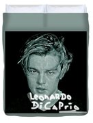 Oscar Goes To Leonardo Di Caprio Duvet Cover