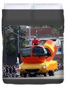 Oscar Mayer Wienermobile Duvet Cover