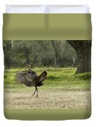 Osceola Turkey Trot Duvet Cover