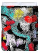 Osile Multicolor Duvet Cover