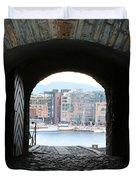 Oslo Castle Archway Duvet Cover by Carol Groenen