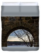 Oslo From Akershus Fortress Duvet Cover