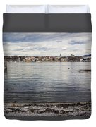 Oslo Waterfront Duvet Cover