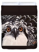 Osprey Eyes  Duvet Cover