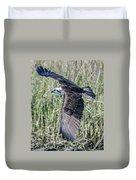 Osprey Flying  Duvet Cover