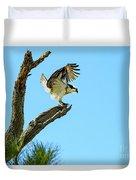 Osprey Landing Duvet Cover