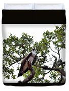 Osprey Perch  Duvet Cover