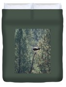 Osprey With Fish 2 Duvet Cover
