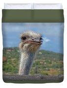 Ostrich Head Duvet Cover