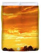 Oswego Sunset 5 Duvet Cover