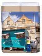 Otrobanda Barber Shpop Duvet Cover