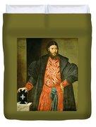 Ottaviano Grimani. Procurator Of San Marco Duvet Cover