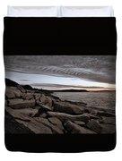 Otter Cliffs Dawn #5 Duvet Cover