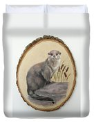 Otter - Growing Curiosity Duvet Cover