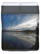 Otters View Duvet Cover