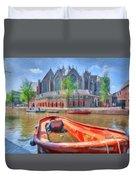 Oude Kerk Duvet Cover