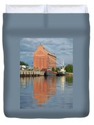 Oulu From The Sea 3 Duvet Cover