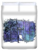 Our Father Berry Blues 3 Dimensional Duvet Cover