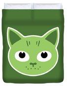 Our Green Cat Birka Duvet Cover
