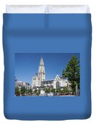 Our Lady Cathedral Antwerp Duvet Cover