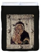 Our Lady Of Don Duvet Cover