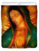 Our Lady Of Guadalupe Duvet Cover by Bill Cannon