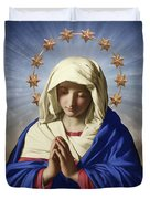 Our Lady Of Health Duvet Cover