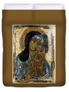 Our Lady Of Tenderness Duvet Cover